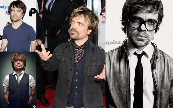 Peter Dinklage goes casual
